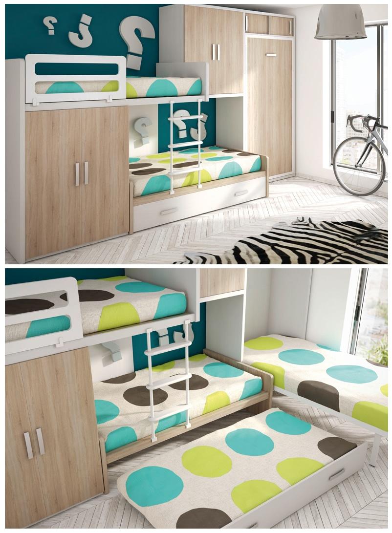 Armoire lit escamotable votre chambre devient une pi ce for Meubles petites surfaces