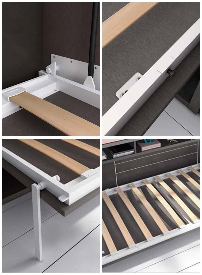 Armoire lit escamotable votre chambre devient une pi ce - Systeme lit escamotable ...