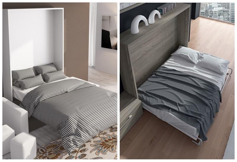 Célèbre Armoire-Lit escamotable : votre chambre devient une pièce à vivre UK41