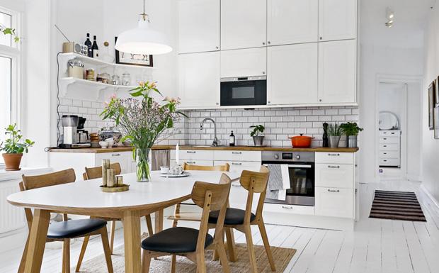 cuisine decoration scandinave
