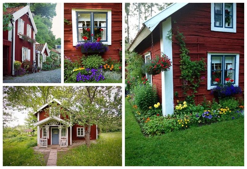 maisons traditionnelles nordique