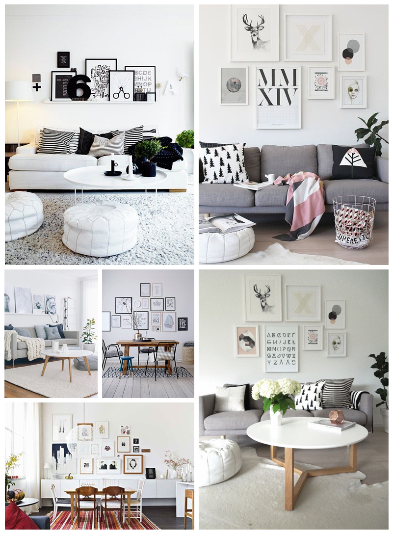 Deco tableau scandinave id e inspirante - Idee deco salon scandinave ...