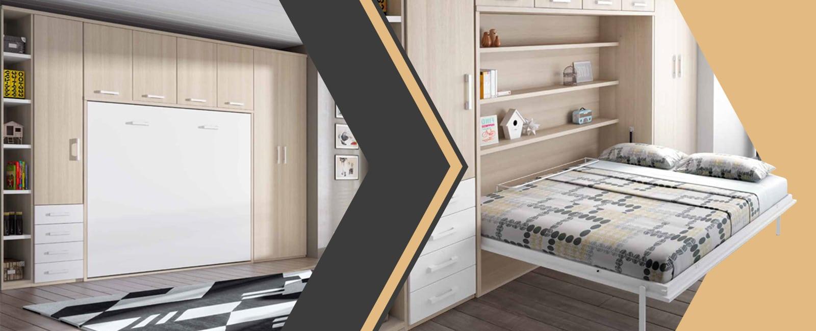 Armoire-Lit escamotable : votre chambre devient une pièce à vivre