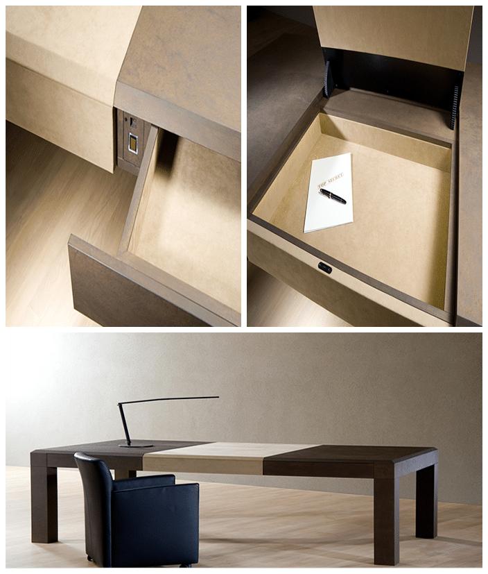 meuble empreinte digitale