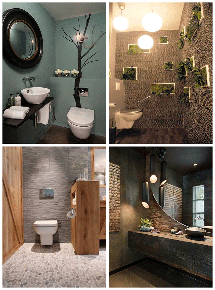 Awesome idee deco wc zen gallery - Wc idee deco ...