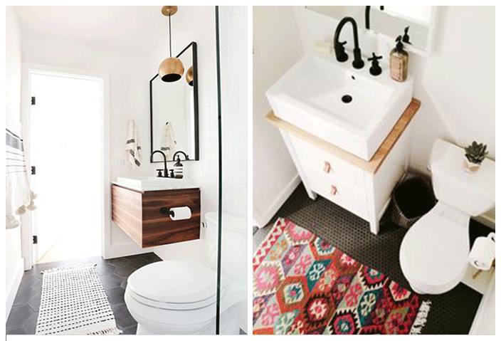 tapis toilettes
