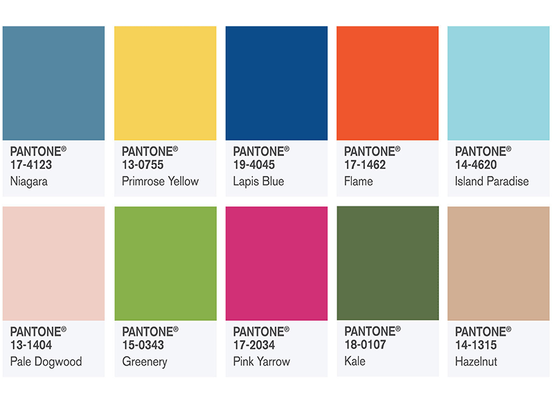 couleur tendance déco 2017