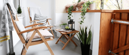 aménagement terrasse petit espace