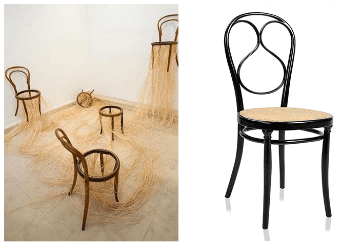 """Chaise n°14 """"Bistrot"""" Thonet"""