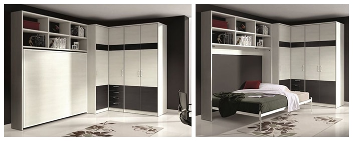 les meubles gain de place des meubles design et astucieux. Black Bedroom Furniture Sets. Home Design Ideas