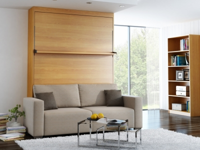 canap convertible vs armoire lit square deco. Black Bedroom Furniture Sets. Home Design Ideas