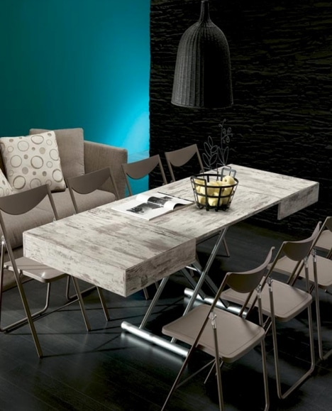 table basse relevable square deco