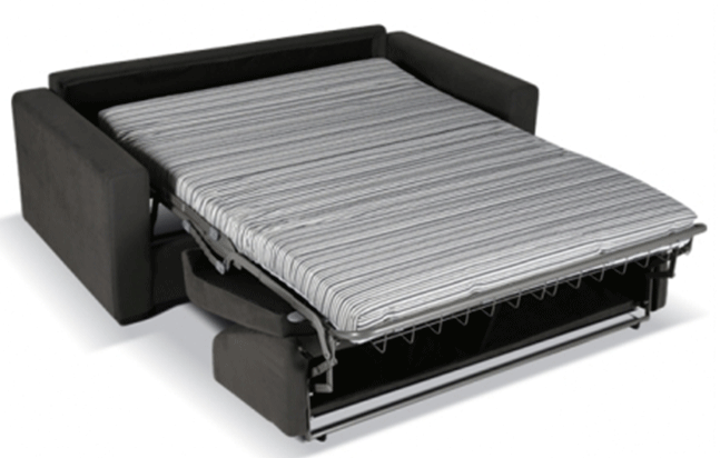 canap convertible confortable pour dormir canap convertible madrid gris with canap convertible. Black Bedroom Furniture Sets. Home Design Ideas